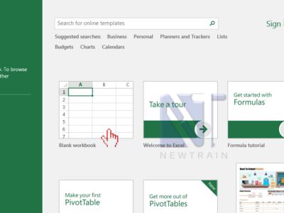 Làm quen với phần mềm Microsoft Excel 2016