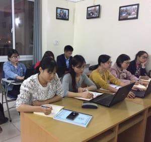 Khóa học kế toán tổng hợp thực hành tại Cầu Giấy Hà Nội